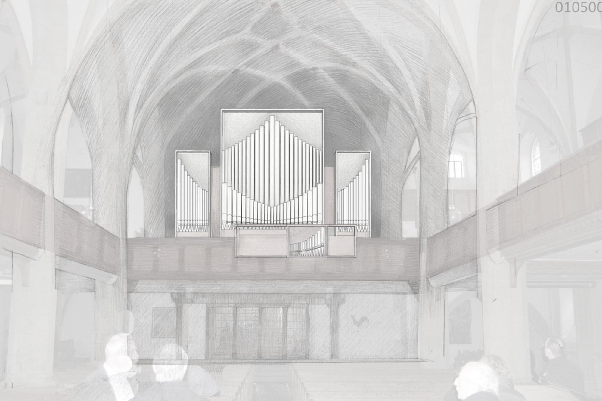 Orgel St Afra Meissen